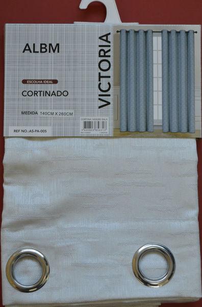 Imagem de CORTINA DE SALA 140 X 260 100% POLY